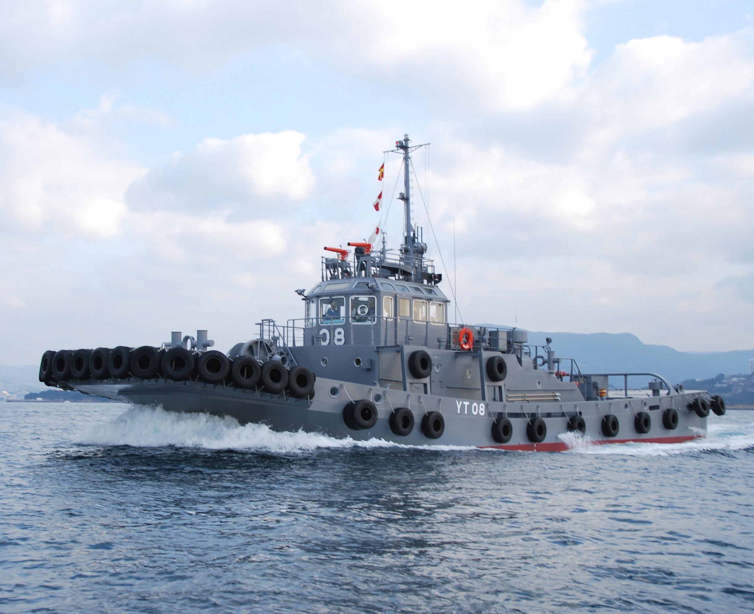 防衛省船 – 前畑造船株式会社